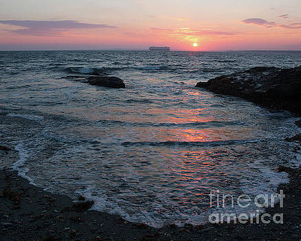 Newport Sunset 6 by Cheryl Del Toro