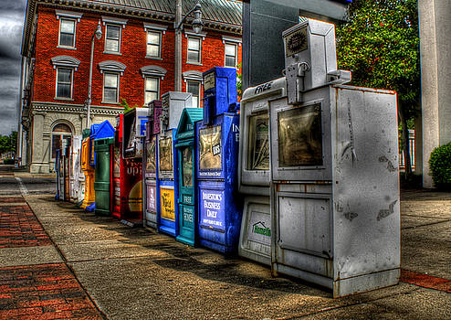 News Stands by Christopher Lugenbeal