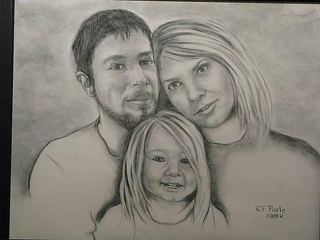 Nichols Family Portrait by Rebecca Poole
