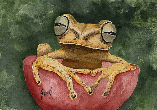 Nic's Frog by Sam Sidders