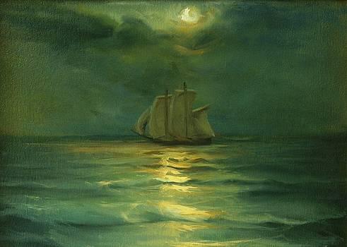 Night At Sea by Michael Chesnakov