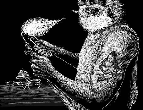 Night Before Night Before Christmas by Bomonster