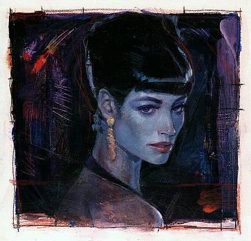 Night Club Girl 1 by Bill Mather