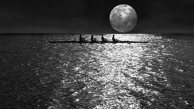 Night Crew bw by Laura Fasulo