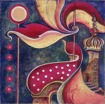 Night in the City of Gods by Anna Ewa Miarczynska