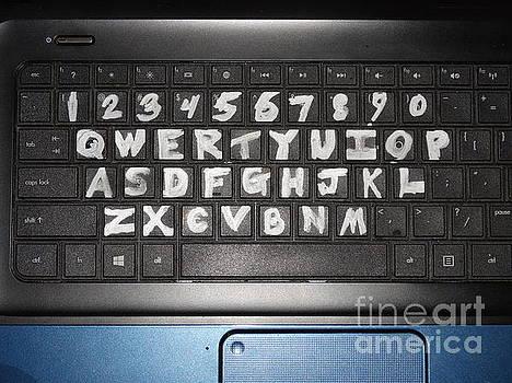 Night Keyboard by Joseph Baril
