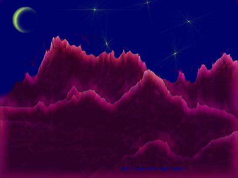 Night. Moon by Dr Loifer Vladimir