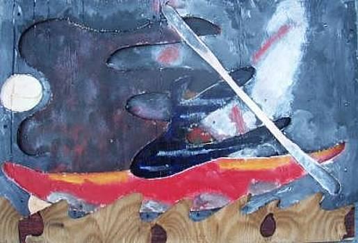Night Paddler by Harry Spitz