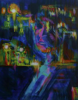 Anna  Duyunova - Night Self Reflection