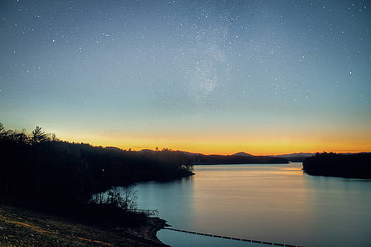 Night Sky over North Carolina by Ray Devlin