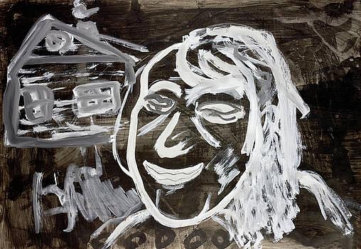 Night smile of Halloween ghosts  by Aleksandr Volkov