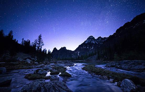 Night Stream by Bun Lee