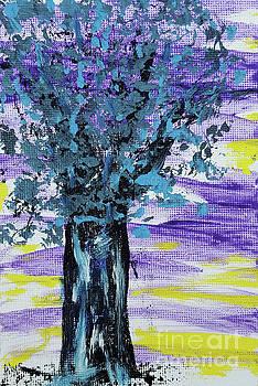 Night Tree With Jazz by Alys Caviness-Gober