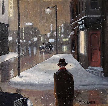 Night Walk by Dave Rheaume
