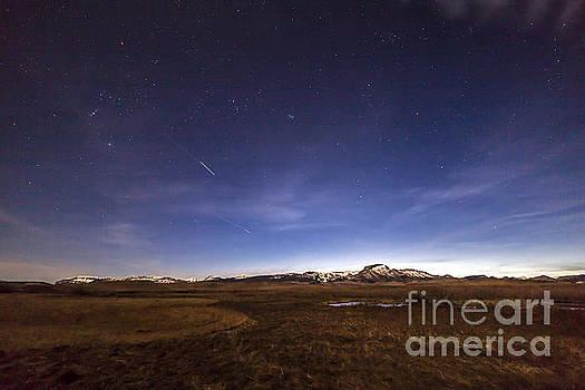 Nightfall on Ear Mountain by John Lee