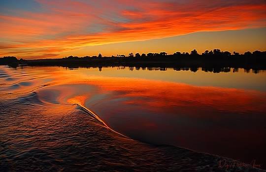 Nile Sunset by Nigel Fletcher-Jones