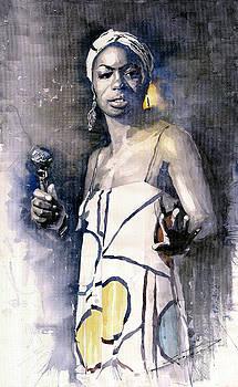 Nina Simone by Yuriy  Shevchuk