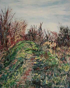 Nisqually Trail IV by Richard Beauregard