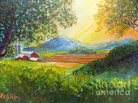 Nixon's Majestic Farm View by Lee Nixon