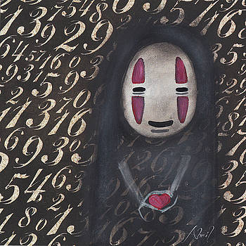 No Face with a Heart by Abril Andrade Griffith