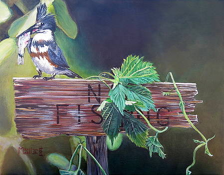 No Fishing by Marilyn  McNish