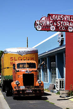 No longer moving. by Anne Mott