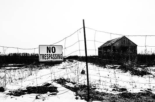 No Trespassing by Karl Anderson