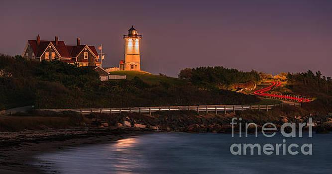 Nobska Lighthouse, Cape Cod, Massachusetts by Henk Meijer Photography