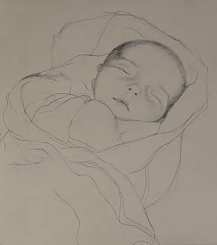 Noelle Sleeping by Jackie Hoats Shields
