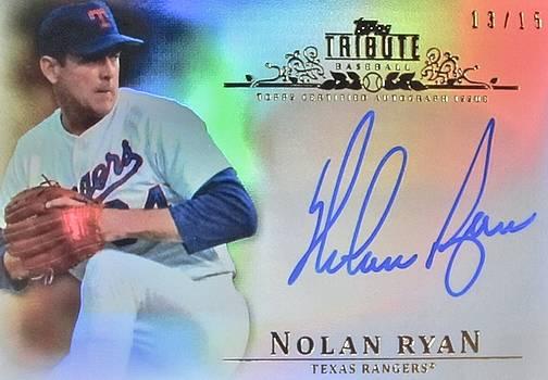 Nolan Ryan by Donna Wilson