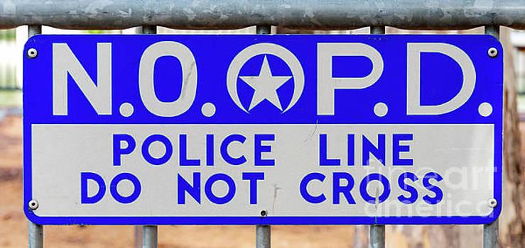 Kathleen K Parker - NOPD Police Line