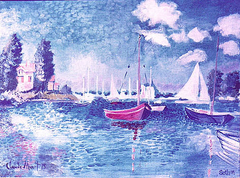Normandy Bay A Study of Monet by Seth Weaver