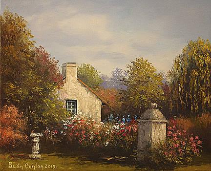 Normandy Garden two by Sean Conlon