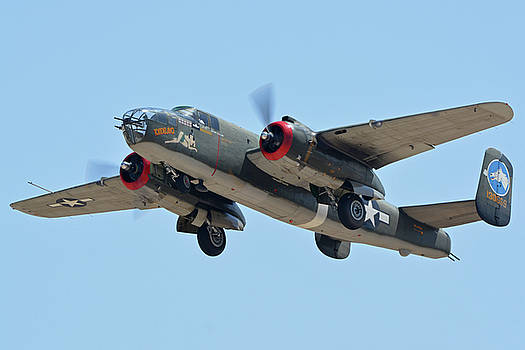 North American B-25J Mitchell NL3476G Tondelayo Phoenix-Mesa Gateway Airport Arizona April 15, 2016 by Brian Lockett