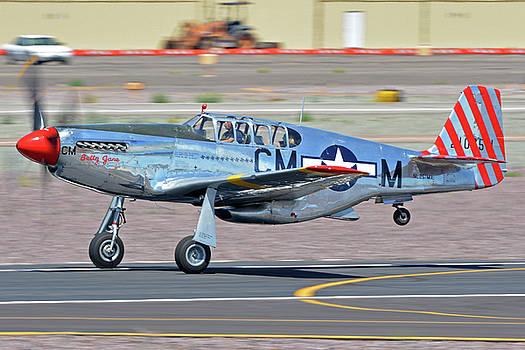 North American TP-51C-10 Mustang NL251MX Betty Jane Deer Valley Arizona April 13 2016 by Brian Lockett