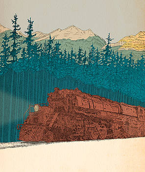 North-bound Train by Patrick Butler