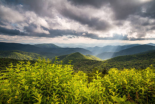 North Carolina Blue Ridge Parkway Scenic Landscape Photography Asheville NC by Dave Allen