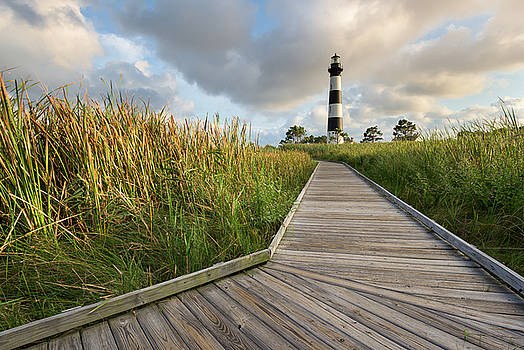 North Carolina Bodie Island Lighthouse Summer by Mark VanDyke