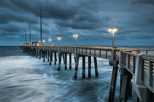 North Carolina Fishing Pier Outer Banks by Mark VanDyke