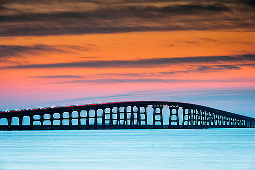 North Carolina Outer Banks Herbert C. Bonner Oregon Inlet Bridge by Mark VanDyke