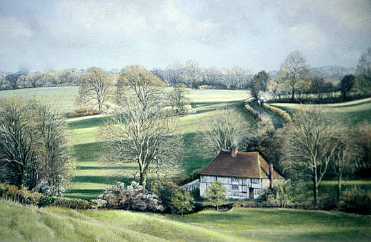 North Downs Hideaway by Rosemary Colyer