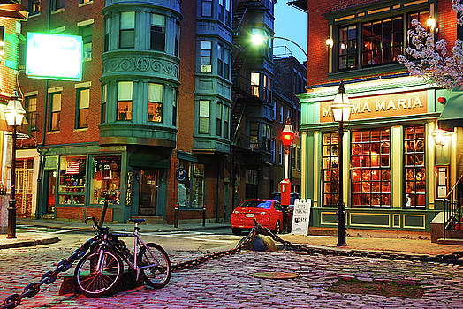 North End Night by James Kirkikis