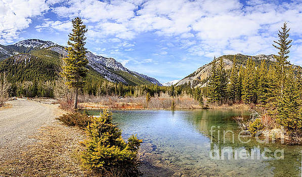 North Fork Teton River by John Lee