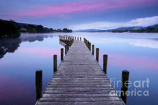 North Jetty at Coniston Water by Martin Williams