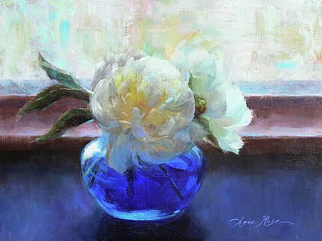 North Light Peonies by Anna Rose Bain