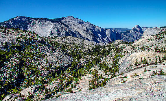 North side of Half Dome Valley by Brian Williamson
