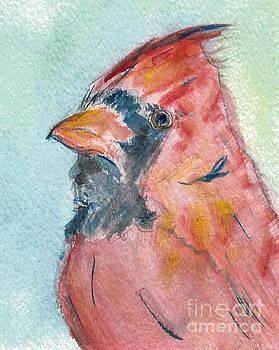 Northern Cardinal by Elizabeth Briggs