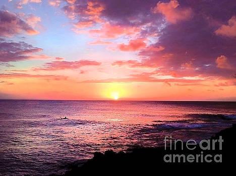 Northshore Sunset by Kristine Merc