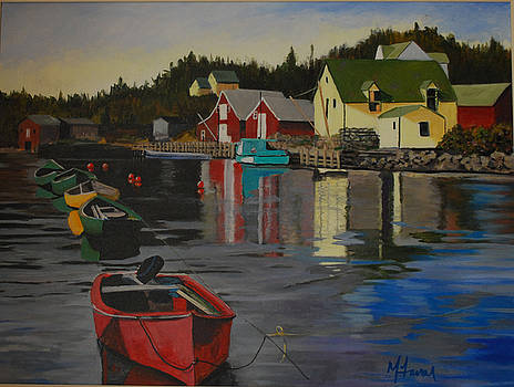 Northwest Cove  Nova Scotia by Margaret Farrar