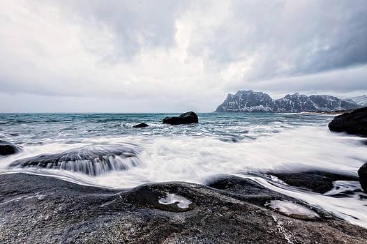 Norway Coastline 2 by Kay Price